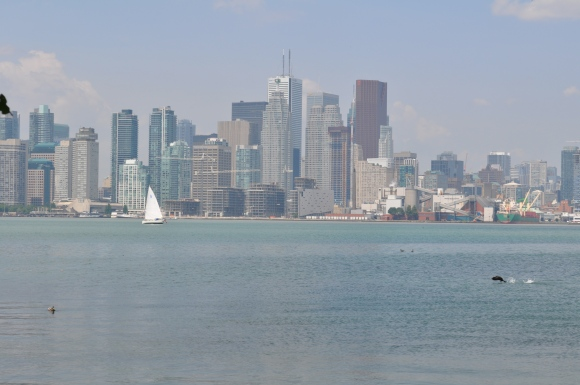 Toronto's mayor is as hazy as late afternoon look from Ward's Island